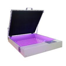 Us Stock 110v Tabletop Screen Printing 20 X 24 80w Vacuum Led Uv Exposure Unit