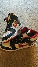 Nike SB Dunks High Lucha Libre Size 10 Premium Rare Sneakers Excellent Condition