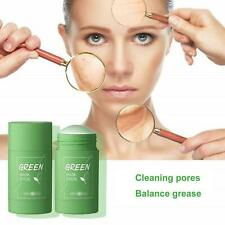 Green Tea Facial Mask Oil Control Cleansing Clay Stick Mask Deep Clean Pore