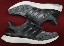 7d3216e2f40 Adidas Ultra Boost Ultraboost 2.0 Mystery Charcoal Solid Grey Black BB6056  Sz 12