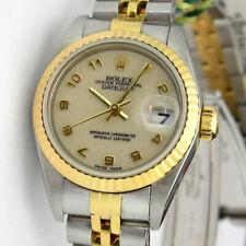 Rolex Lady Datejust Banda de oro amarillo de Mujer Relojes