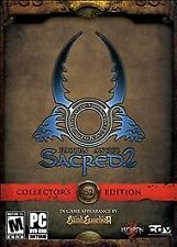 sacred 2: fallen angel-collector 's edition amazon. com exclusive (pc, 2008)