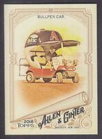 Topps - Allen & Ginter 2018 - Base # 18 Bullpen Car