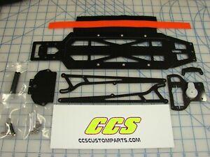 RC Car Chassis Conversion Kit for Traxxas Drag Slash 3.0 by CCS wheelie bars