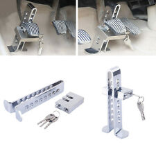 Auto Anti-theft Device Clutch Lock Car Brake Pedal Stainless Steel Security Lock