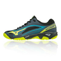 Mizuno Mens Wave Ghost Court Shoes Black Sports Handball Breathable Lightweight