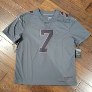NIKE MENS NFL ATLANTA FALCONS MIKE VICK STITCHED JERSEY Size XL AV2493 060 Grey