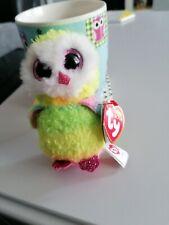 TY Beanie Boo Key Clip - Owen the Owl