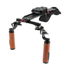 CAMVATE Camera Shoulder Rig Pad with ARRI Handgrip Plate NATO Rail for Camcorder