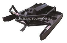 """NEW 72"""" EXTREME-DUTY OPEN FRONT BRUSH CUTTER ATTACHMENT Skid-Steer Loader Mower"""