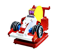 Commercial Coin Operated Kiddie Ride F1 Race Car Arcade 1 Player