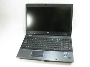 "HP 8540w 15.5"" Laptop 2.67GHz i5 1st Gen 4GB RAM (Grade B No Battery/Caddy)"