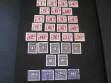 Canada Stamp Sets Postage Due Lot 4