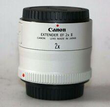 Duplicador Extender CANON EF 2x II🏠 Para EOS y R*, Full Frame, Mark 2 +GARANTY
