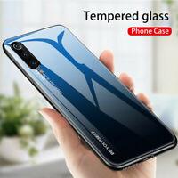 For Xiaomi Mi 9 SE Mi 9T Mi 9 Lite Shockrpoof Gradient Tempered Glass Case Cover