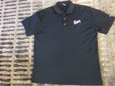 Circus Animal Mother's Cookies Black Golf Polo Nike Shirt XL mens new