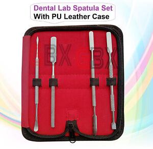 Dental Lab Spatula Set of 4 pcs -Cement Spatula -Gritman Carver Beale Wax Carver