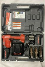 Ridgid Propress Compact Press Tool Rp 200-B w/Batteries and Charger