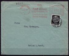 Herford Elverdissen Freistempel + Nachfrankatur 1933   (d022