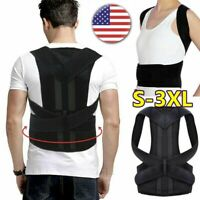 HOT!! Posture Corrector Corset Support Back Shoulder Brace Belt For Men Women