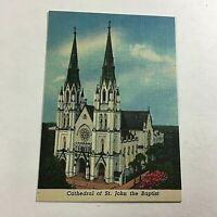 VINTAGE 1930s Mini Photographs Souvenir Pictures Savannah GA St. John Cathedral