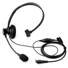2PIN Headset Earpiece PTT Mic for RETEVIS KENWOOD BAOFENG WOUXUN PUXING Radio YS