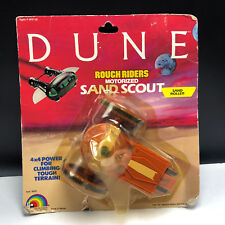 VINTAGE DUNE ACTION FIGURE 1984 LJN MOC rough riders motorized sand scout roller
