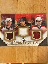 2005-06 Upper Deck NHL Generations #TSIR Joe Sakic/Jarome Iginla/Mike Ribeiro