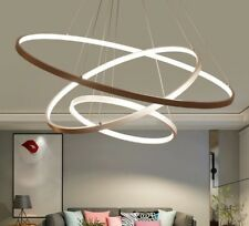 Pendant Lights For Living Room Circle Rings Acrylic Aluminum LED Lamp Fixtures