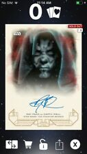 Topps Star Wars Digital Card Trader Galactic Heritage TPM Red Maul Signature