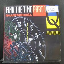 "Quadrophonia - Find The Time (Part 1) 12"" Mint- 657626 5 UK 1991 Vinyl Record"