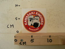 STICKER,DECAL KAWASAKI ENGINES FA210D  STATIONAIRE MOTOR ? GENERATOR ? KAWASAKI