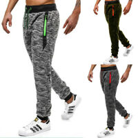 Mens Casual Sweatpants Fitness Pants Workout Joggers Training Sport Trousers