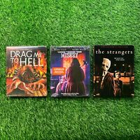 Scream Factory x3 Blu Ray Bundle Horror Lot w/ Rare OOP Slipcovers Brand New