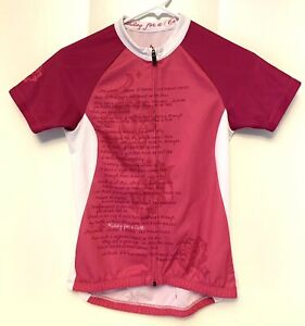 Specialized Women's CYCLING JERSEY XS pockets full Zip Pink Riding for a Cure