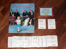 The Royal Family 1988 Panini Sticker Album, Complete but with a twist...