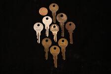 Lot of 9 Vintage Lock Keys - Yale & Towne - Yale Junior - J102