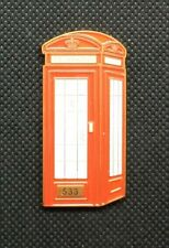 2006 London Phone booth Geocoin #533 trackable UNACTIVATED VHTF