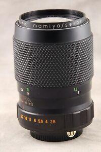 Mamiya Auto SX 135mm 2.8 Screw Mount Lens, Very Nice
