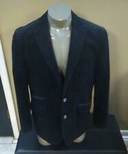 KROON Black print  Cotton blend Mens Blazer Sport Coat / Jacket - 42R NWOT