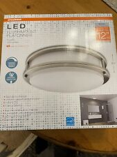 Sylvania LED plafonnier 12 diameter nickel plate 75w