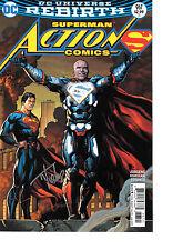 Action Comics #967 VARIANT signed Tyler Kirkham NM REBIRTH Lex Luthor