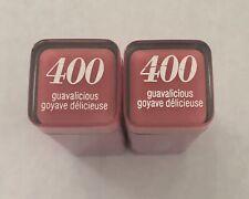 (2) Covergirl Colorlicious Lipstick, 400 Guavalicious