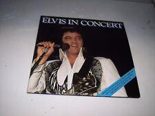 LP<<ELVIS PRESLEY<<ELVIS IN CONCERT   APL-2587   **NM VINYL**   #58