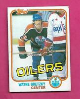 1981-82 TOPPS # 16 OILERS WAYNE GRETZKY EX-MT CARD (INV# C9249)