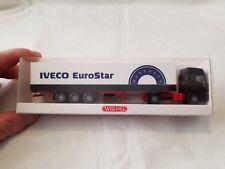 WIKING HO (1/87) IVECO EuroStar Canvassed Tractor-Trailer w/EuroStar logo NIB