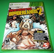 Borderlands 2: Add-On Content Pack Microsoft Xbox 360 *New-Sealed-Free Ship!