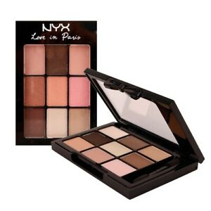 NYX LOVE IN PARIS~9 COLOR EYESHADOW PALETTE~(LIP02)~ 9X0.028 OZ ~ HOLIDAY SALE !