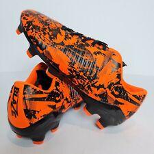 Sondico Blaze Boys MG Football Boots Size UK 1 - Sondico Vibrant Orange Boots A1