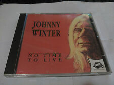 CD JOHNNY WINTER - NO TIME TO LIVE- THUNDERBOLT UK 1991 VG+